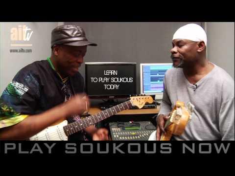 KAWELE & JJ  DISCUSSING  SOUKOUS  GUITAR STYLE PT2
