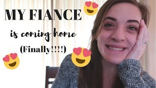 WHEN IS MY FIANCE COMING HOME?? | Marine Fiancé | Hannah Madison