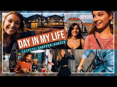 A DAY IN MY LIFE - Vlog (Leipzig, Burger essen, Shoppen) // JustSayEleanor ♡