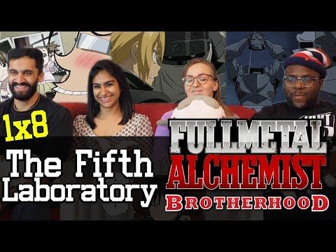 Fullmetal Alchemist: Brotherhood - 1x8 The Fifth Laboratory