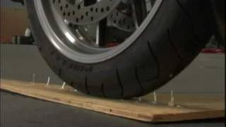 Nails and Drills Abusing the Tire Protection System from Ride-On • J&P Cycles