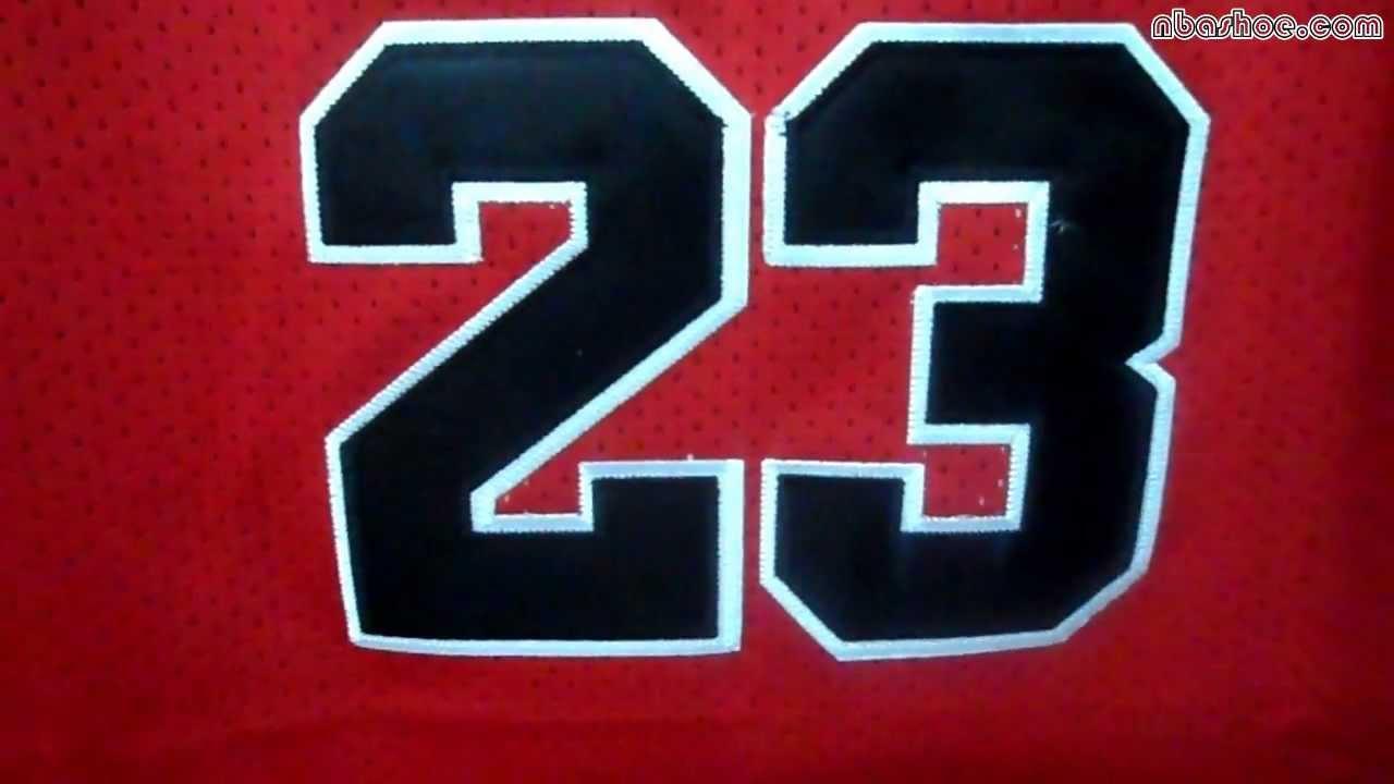 Adidas Chicago Bulls #23 Michael Jordan Swingman Road Jersey at ...