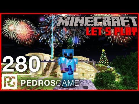 NEJVĚTŠÍ OHŇOSTROJ | Minecraft Let's Play #280 | Pedro