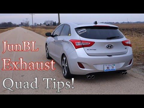 Hyundai Elantra GT/I30 JunBL Exhaust!