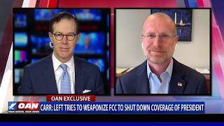 FCC Commissioner: Left tries to weaponize FCC to shut down coverage of president