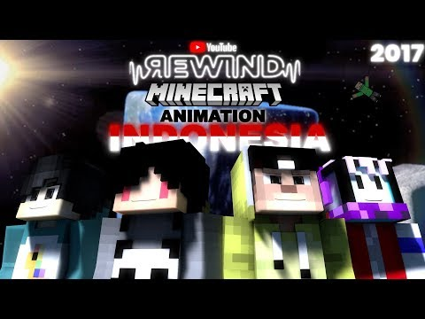 Download Youtube: Youtube Rewind Minecraft Animation Indonesia 2017 =The Story Of Animation=