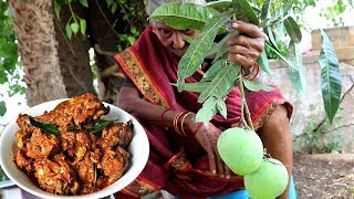 chicken curry  Recipe | 106 Mastanamma |Raw Mango chicken curry |