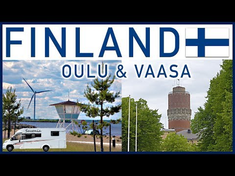 RVing in Finland - Oulu and Vaasa