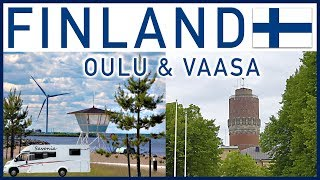 RVing in Finland: Oulu and Vaasa - Traveling Robert