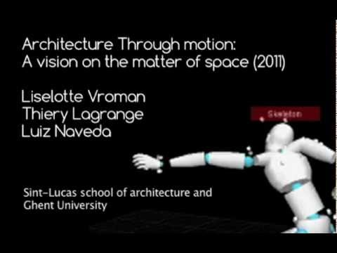 Generating tacit knowledge through motion: A vision on the matter of space