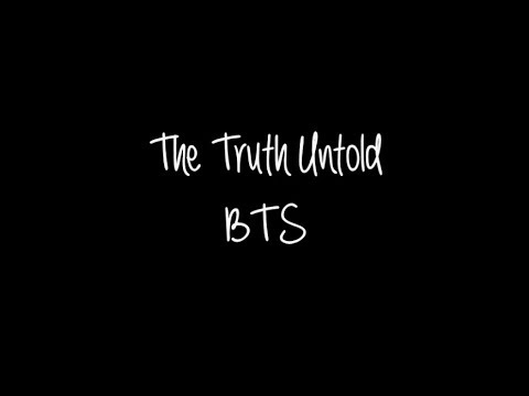 Bts The Truth Untold Romanized English Lyrics Youtube