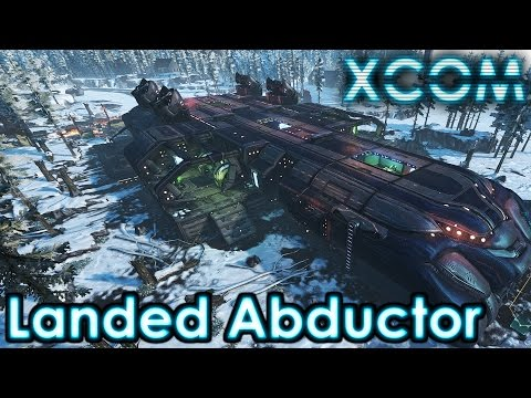 Landed Abductor with Green Fog | XCOM Long War Impossible: Random! #35