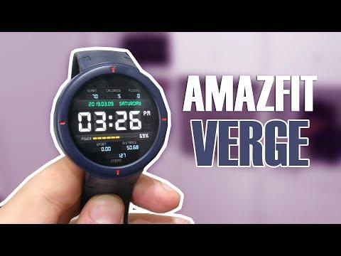 Amazfit Verge, todo lo que necesitas saber sobre este reloj inteligente