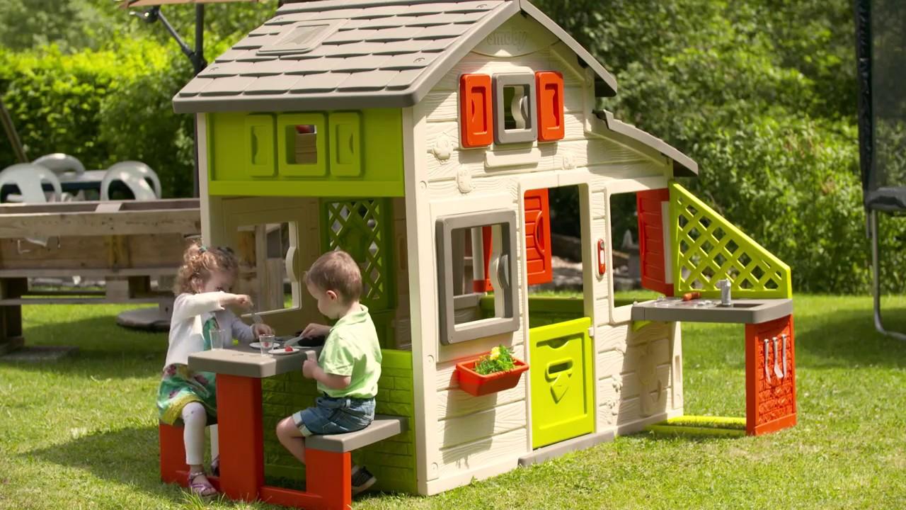 Smoby Domek Friends House Z Kuchnią I Stolikiem