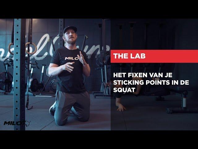 HET LAB | Het fixen van je sticking points in de Squat