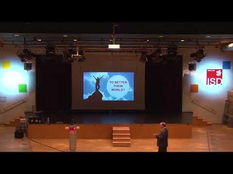 Marc Prensky - ISD Speaker Series 2018