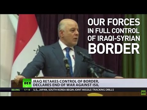 Iraq celebrates ISIS defeat, US claims fight isn