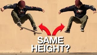 How to OLLIE as High as you Jump!