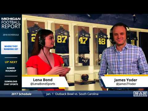 2018 Michigan Football Schedule and Early Rankings, Latest Wolverine Rumors, & More!