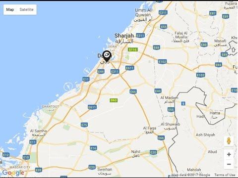 Damac AYKON City Location Map Sheikh Zayed Road Dubai UAE YouTube