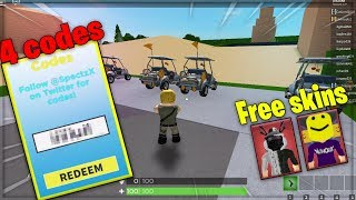 4 *NEW* Roblox Battle Royale Simulator Codes!.. (Fortnite lol).. (Free Skins)