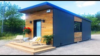 Amazing Ontario's Smallest LEGAL house of Tiny House on a Foundation in True North,Ontario