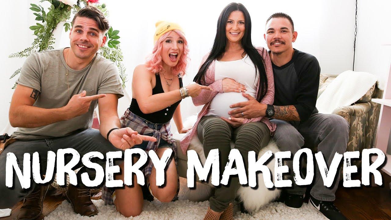 Bohemian Nursery Makeover | Breaking Beige | Mr. Kate