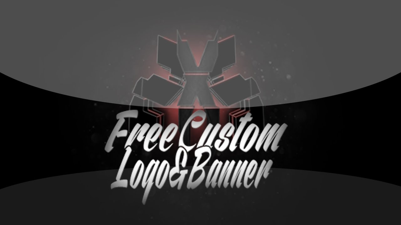free custom youtube logo and banner