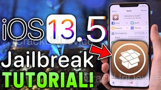 NEW Jailbreak iOS 13.5 Unc0ver! How to Jailbreak iOS 13 WINDOWS or MAC!