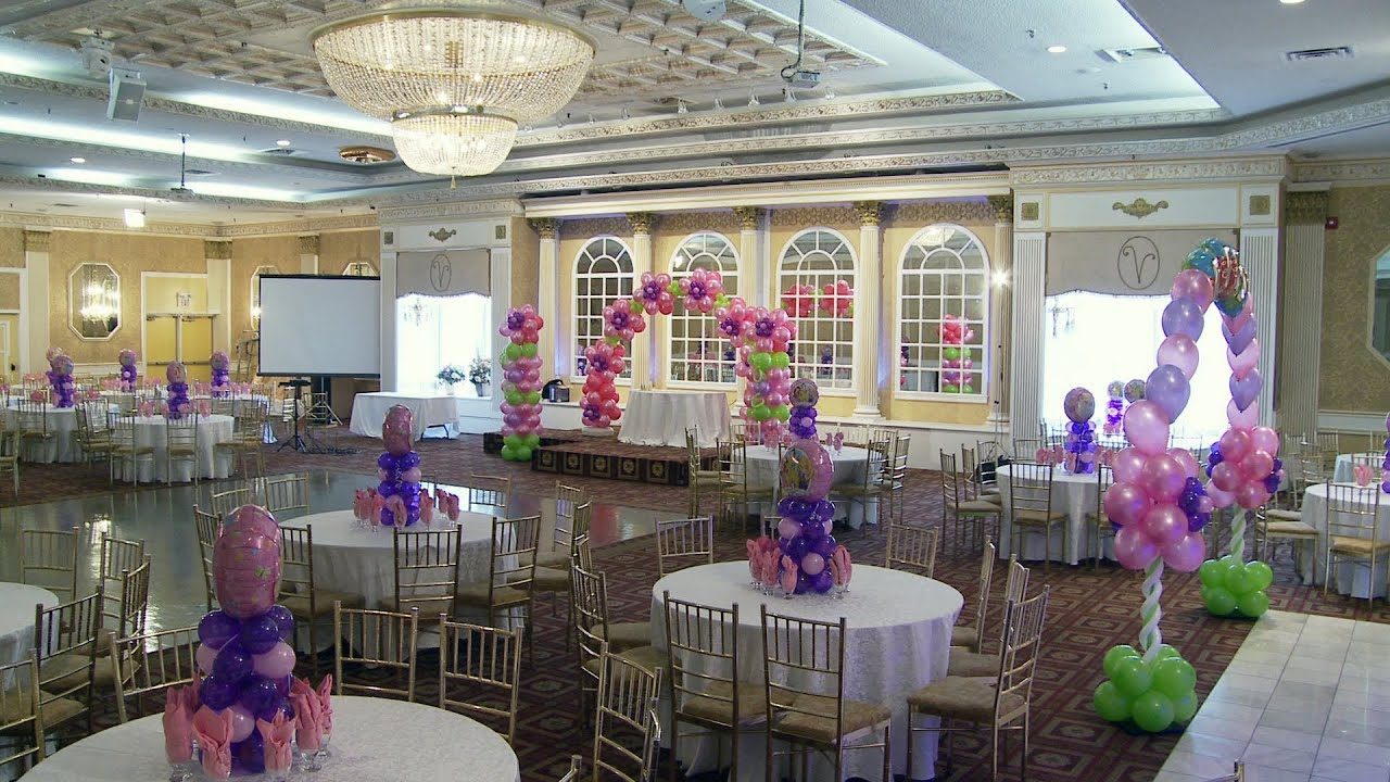 Verdi Banquet Hall Decoration