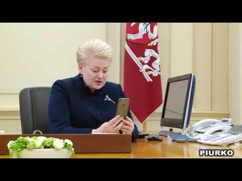 Dalia Grybauskaitė Call To PUTIN