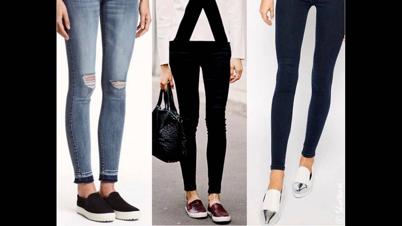 How to ankle wear shoes with jeans