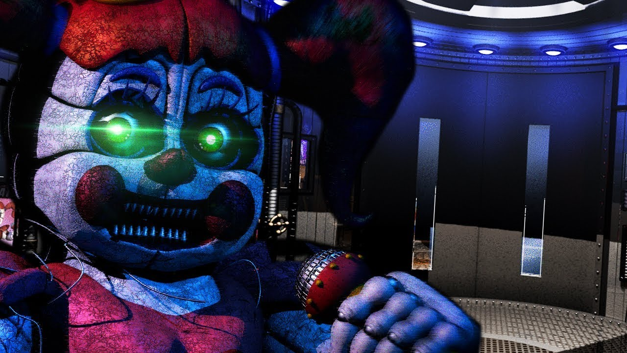 building-the-fnaf-5-bunker-and-animatronics-five-nights-at-freddys-animatronic-universe