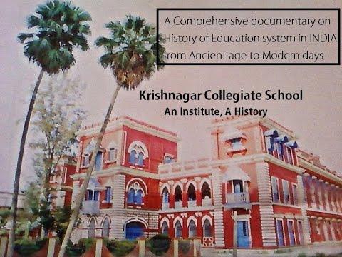 Krishnagar Collegiate School - An Institute, A History