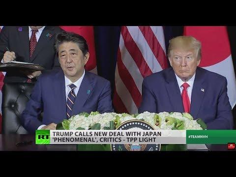 Japan, US strike 'win-win' trade deal