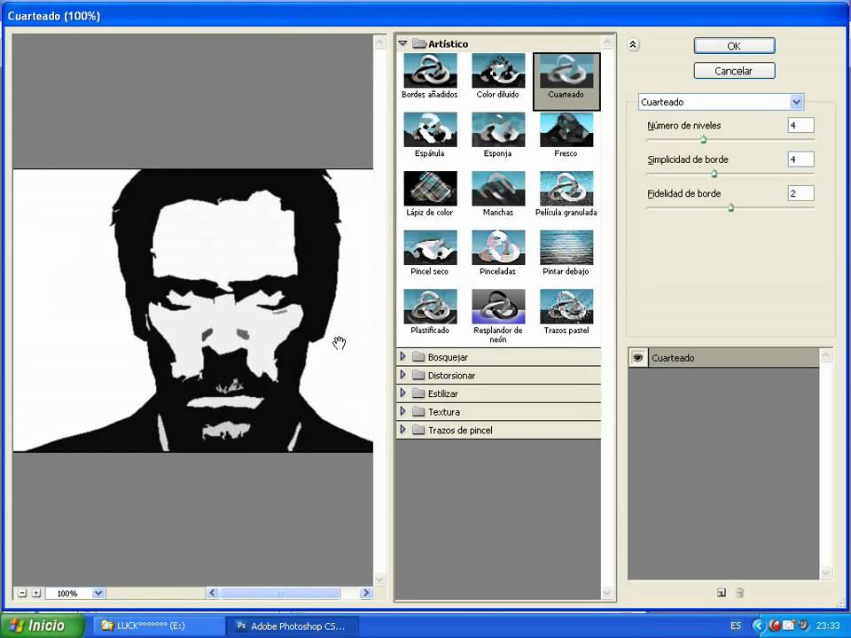 tutorial para crear un stencil en photoshop - YouTube