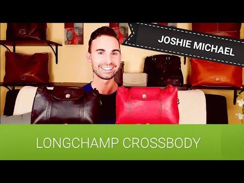 553eef34a745 Longchamp Le Pliage Cuir Crossbody Bags