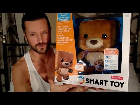 FISHER-PRICE SMART TOY BEAR DAY 1
