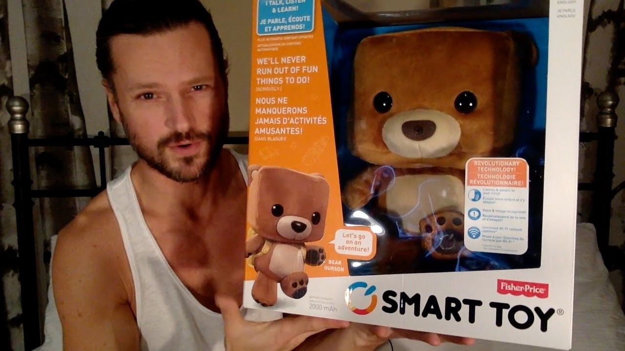 Fisher Price Smart Toy Bear Day 1 Youtube