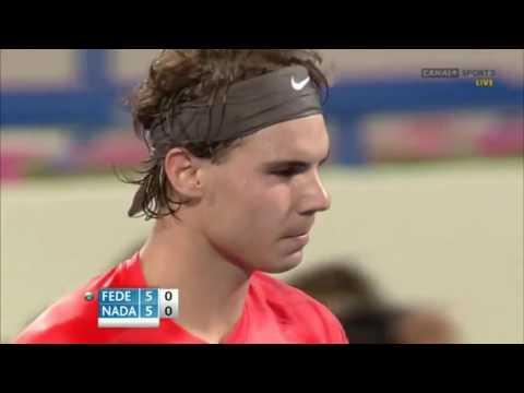 Nadal vs Federer - Abu Dhabi 31/12/2010 Highlights