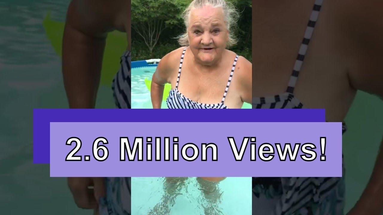 Mama Carol goes swimming #shorts #mamacarol