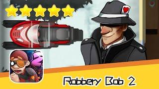Robbery Bob 2 Pilfer Peak 12 Walkthrough Secret Agent Suit Recommend index five stars