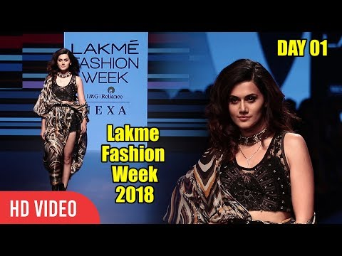Taapsee Pannu At Lakme Fashion Week 2018