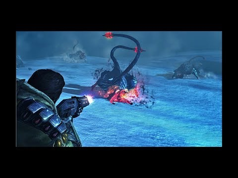Lost planet 3 playstation 3 4k intro and gameplay |