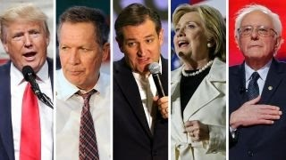 Candidates clash ahead of New York primary