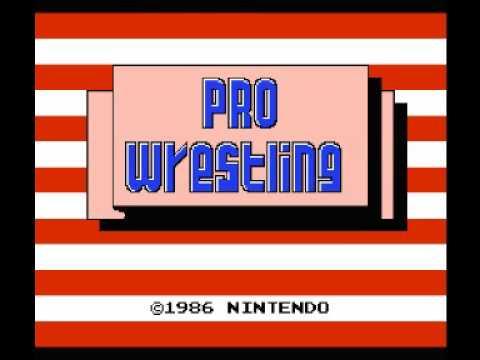 Pro Wrestling (NES) Music - Game Theme
