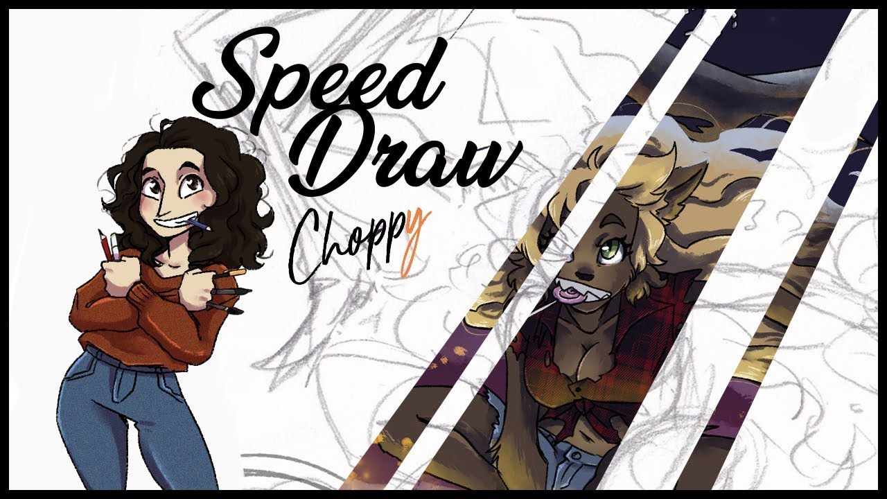 SPEED DRAW: Halloween for Monsters