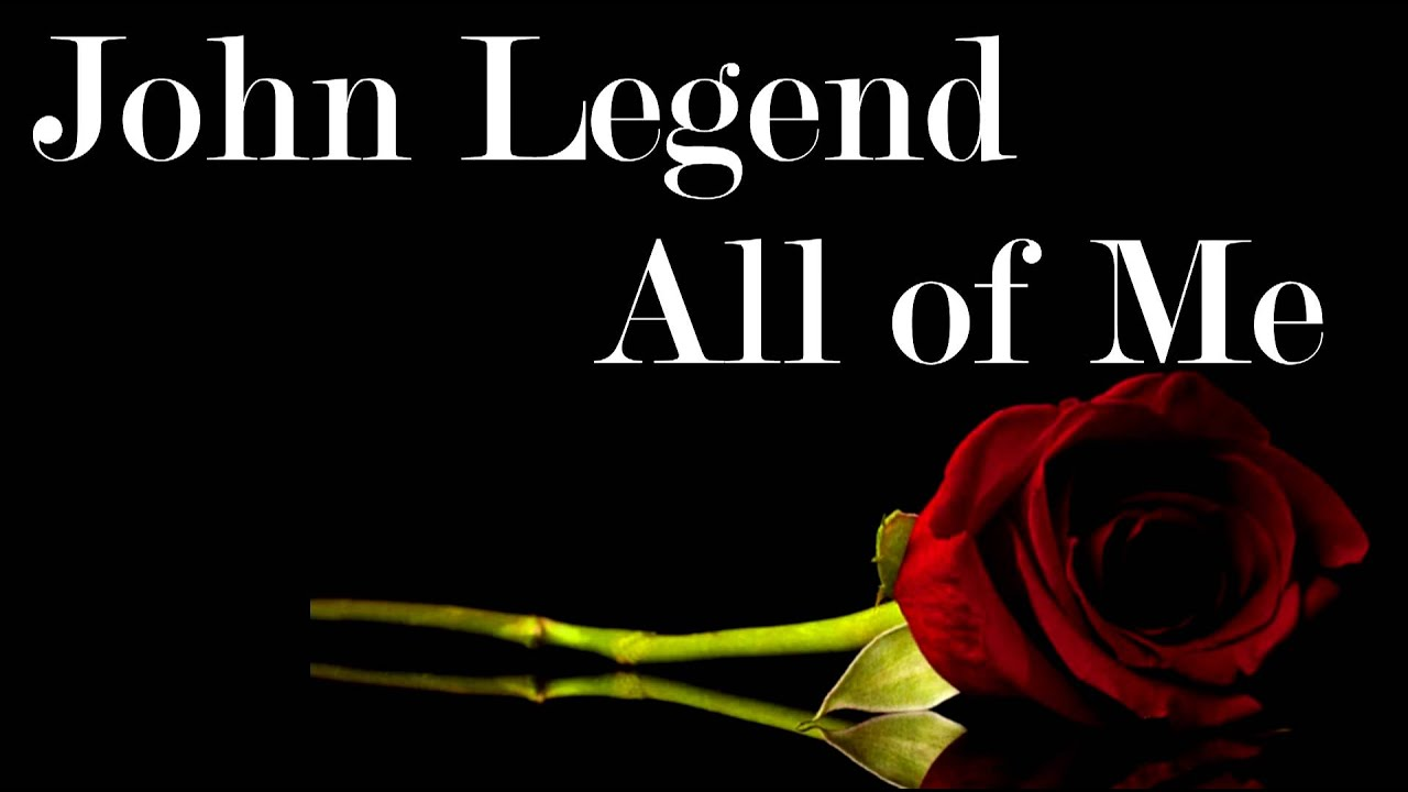 John Legend - All Of Me (remix) - YouTube