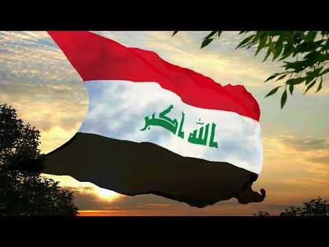 Flag and anthem of Iraq