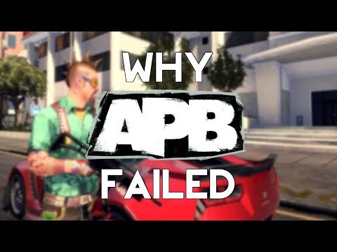 Why APB Failed : Gaming's $100,000,000 Failure